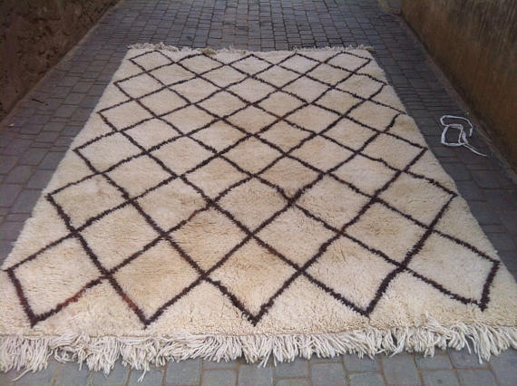 Authentic Classical Beni Ourain Rug