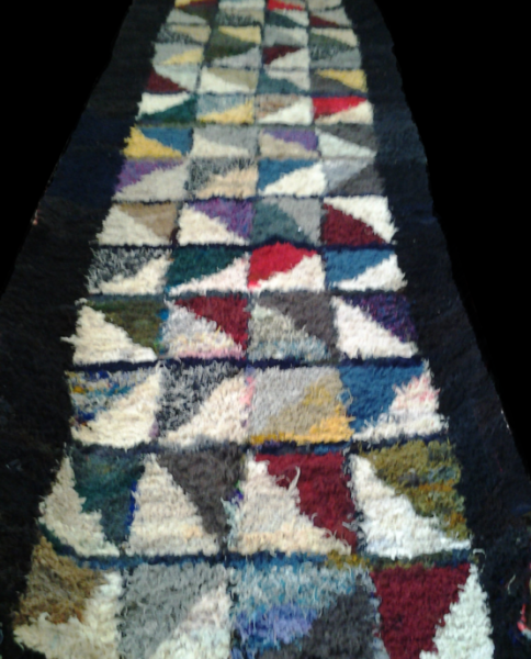 MOROCCAN COLORED BOUCHEROUITE RUG