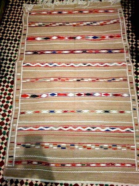 Wonderful  Kilim Berber Moroccan