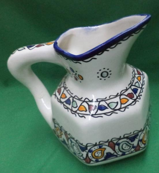 Ceramic Serving Pitcher  Moroccan pottery