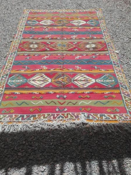 Glaoua Authentic Moroccan Rug taznakht