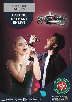 VOCAL TOUR 2017 à Bordeaux Lac