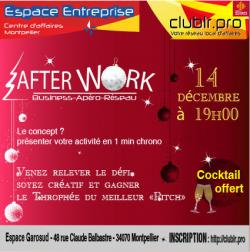Invitation à l'Afterwork de Noel !