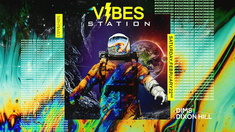 Vibes Station - Saturday February 22nd
