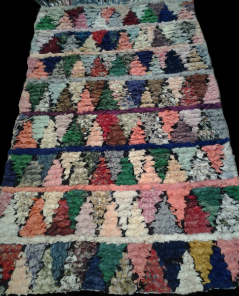 COLORFUL BOUCHEROUITE RUG